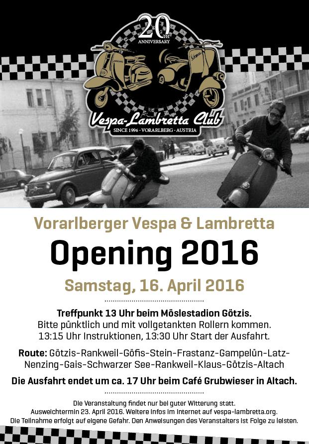 Opening 2016