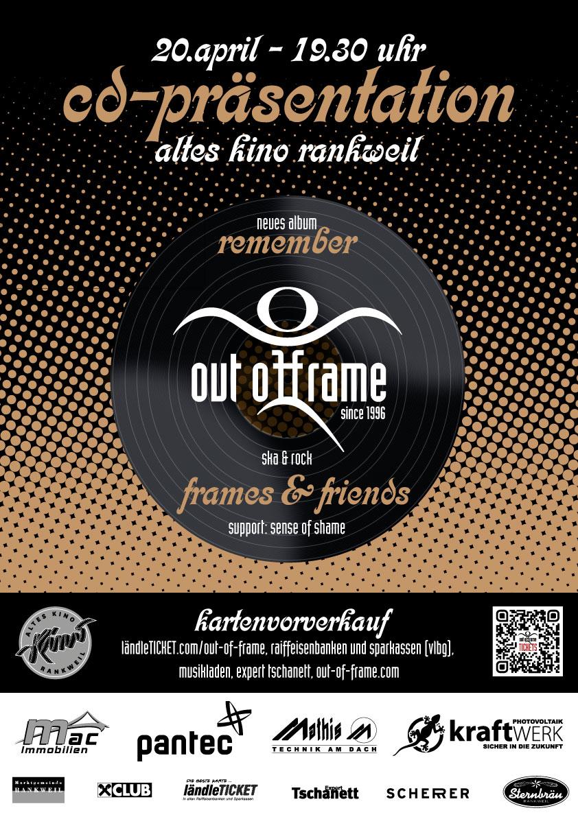 Out of Frame – CD-Präsentation \